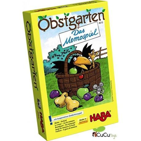 HABA - Juego de memoria: El frutal, juego de mesa