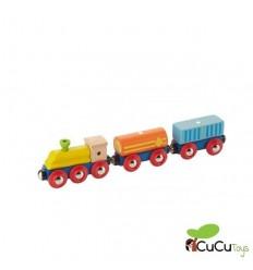 EverEarth - Tren de madera de Mercancías