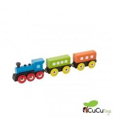 EverEarth - Tren de madera de vapor retro