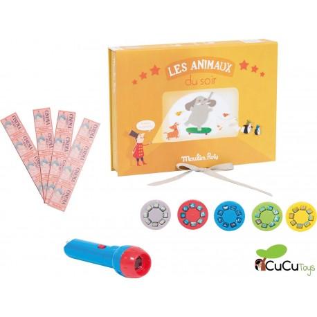 "Moulin Roty - Caja del cine ""Animales"""