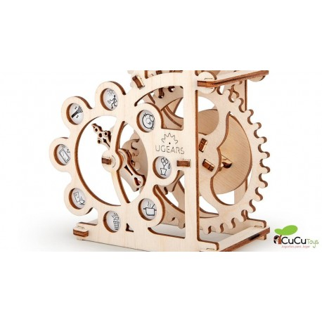UGears - Dinamómetro, kit de madera 3D