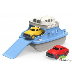 Greentoys - Ferry con mini-coches, juguete ecológico