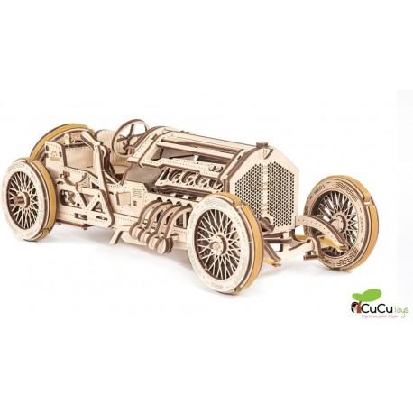 UGears - Coche Grand Prix U-9, kit de madera 3D