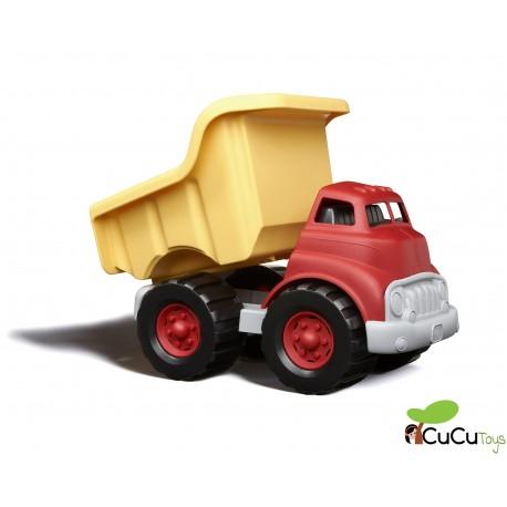 Greentoys - Camión volquete, juguete ecológico