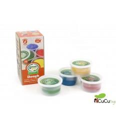 Greentoys - Pack 4 eco plastilina