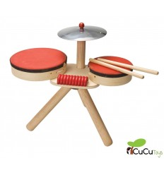 PlanToys - Drums, wooden musical toy