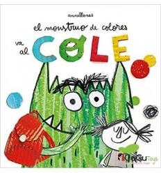 Anna Llenas, El monstruo de colores, Cuento Infantil