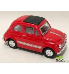 Welly - Fiat 500, coche de juguete