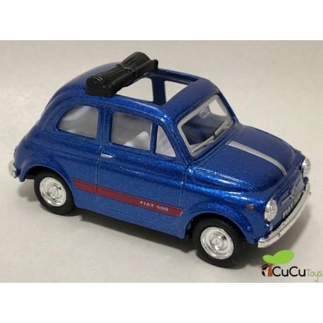 Kinsmart - Fiat 500, coche de juguete