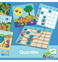 Djeco - Eduludo Quantitix, juego educativo