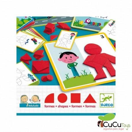 Djeco - Eduludo Formas, juego educativo