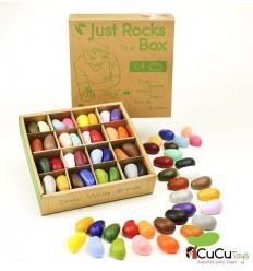 Crayon Rocks - Ceras para pintar (64 piedras en 32 colores)