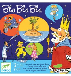 Djeco - Bla bla bla, juego de mesa