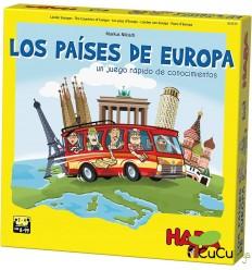 HABA - Los Países de Europa, juego de mesa