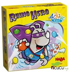 HABA - Rhino Hero – Active Kids