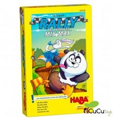 HABA - Rally de Animales Mix Max, juego de mesa