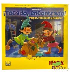 HABA - ¡Tocado, encontrado!, juego de mesa