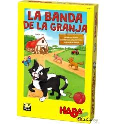 HABA - La Banda de la Granja, juego de mesa