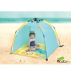 """Ludi - Tienda """"Minuto"""" con protección solar UV50, juguete de playa"""
