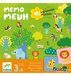 Djeco - Memo Meuh, juego de mesa