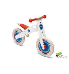 Scratch - Bicicleta de madera sin pedales, diseño Pájaro