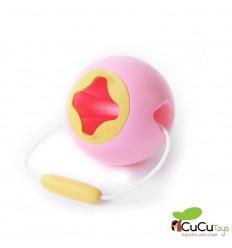 Quut - Mini Ballo Sweet Pink - Cubo de agua esférico
