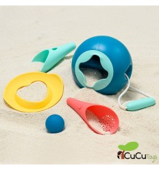 Quut - Set de playa completo con Mini Ballo