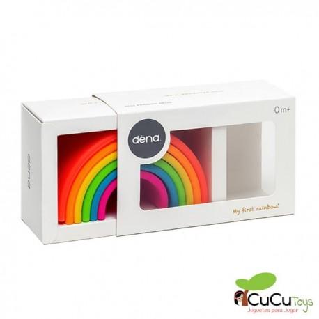 Dëna - Arcoiris Neon, juguete de silicona