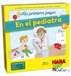 HABA - Mis primeros juegos – En el pediatra, juego de mesa