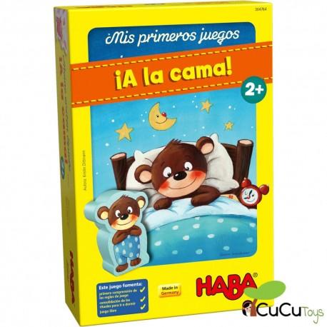 HABA - Mis primeros juegos: ¡A la cama!, juego de mesa