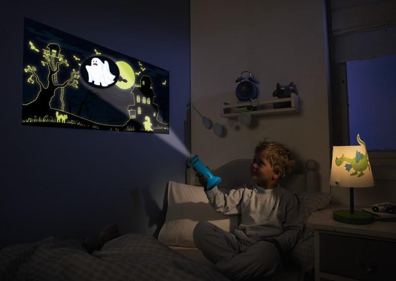 haba linternas y proyectores