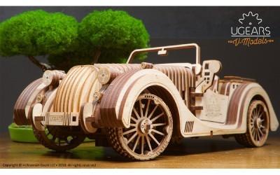 Maquetas mecânicas, kits de madeira e modelos para montar - UGEARS