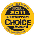 Creative Toys Preferred Choice Award 2011