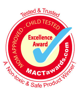 Mom Approved & Child Tested (MACT) Award for Excellence Award