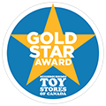 Neighborhood Toy Stores of Canada Gold Star Award